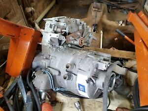 GM EV1 electric car motor/transaxle. YES, REALLY,  it survived