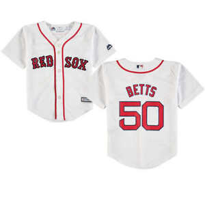 MOOKIE BETTS Boston Red Sox TODDLER KIDS 2T 3T Baseball Jersey  96f638ce6be