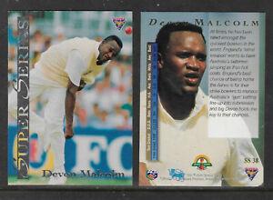 DEVON-MALCOLM-England-1994-FUTERA-ASHES-SUPER-SERIES-CRICKET-CARD-SS38