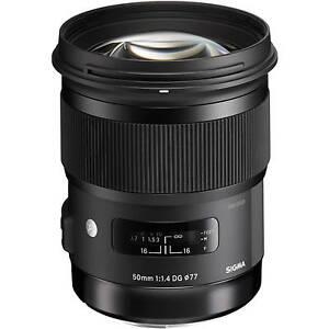 Sigma-50mm-F1-4-DG-HSM-A-Art-Series-Lens-in-Sony-A-Mount-fit-UK-Stock-BNIB