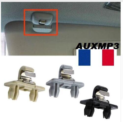 Clip pare Soleil Crochet Support Pour Audi A1 A3 A4 A5 Q3 Q5 TT 8U0857562A