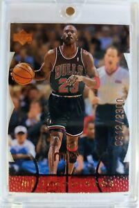 Rare-1998-98-Upper-Deck-MJX-Michael-Jordan-MJ-Timepieces-87-039-d-of-2300-Bulls