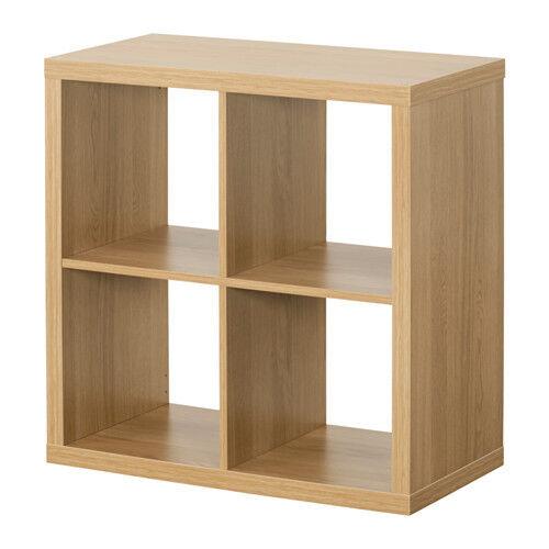 IKEA Kallax Expedit Unit Bookcase Bookshelf Oak Effect 77 X Cm