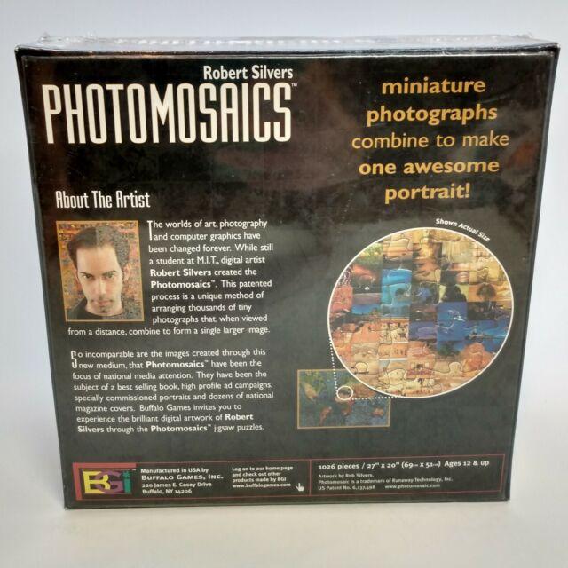 Buffalo Games Puzzle Photomosaics Elvis Presley 1000 Pcs 27 X 20 for sale online