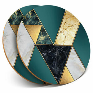 2-x-Coasters-Abstract-Art-Deco-Marble-Effect-Home-Gift-21082