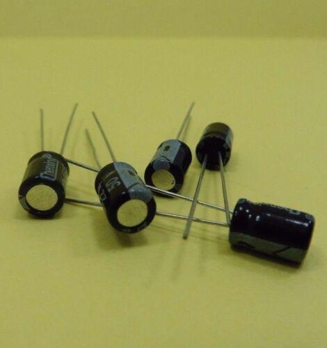 50 V 22uF condensadores electrolíticos de alta frecuencia 8 X 5 mm Original