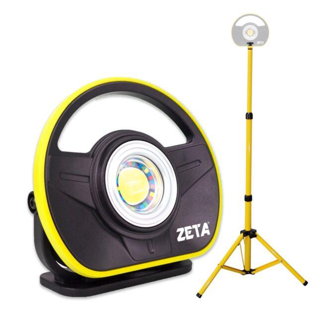 Zeta 900 Lumen Rechargeable Paint Detailing Color Matching Light With Tripod
