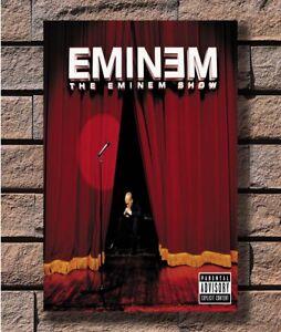 Home Decor Eminem Music Star Silk Poster 14x21 24x36