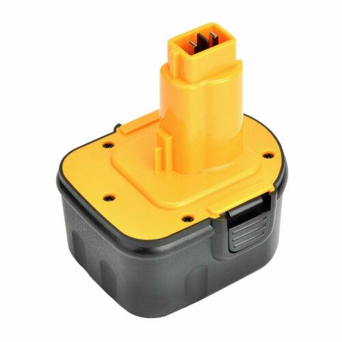12V 2X Battery for DeWalt DW9072-2000mAh NICD