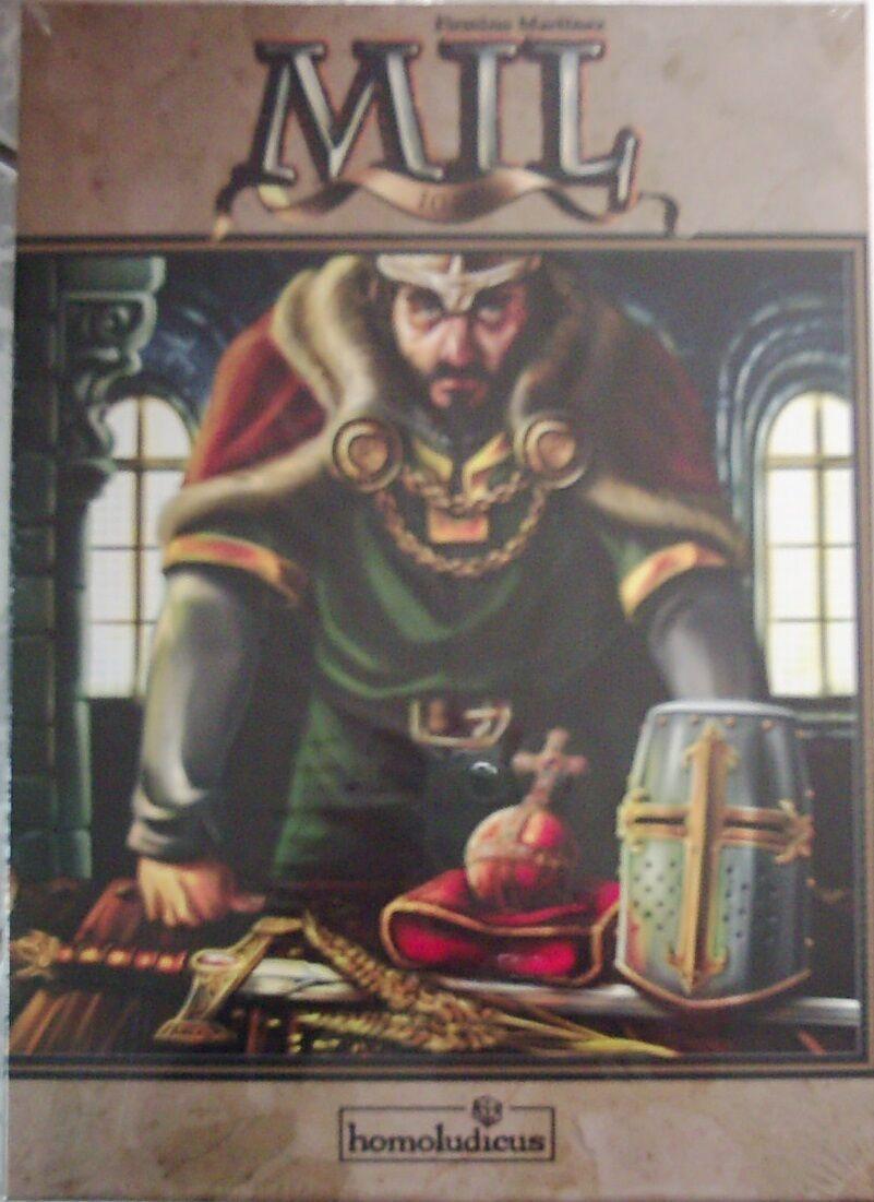 Mil (1049) HOMOLUDICUS (neuf dans sa boîte) ANGLAIS ESPAGNOL sortie