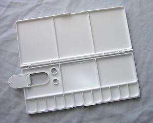 Image Is Loading Loew Cornell Folding Watercolor Plastic Palette Tray 17