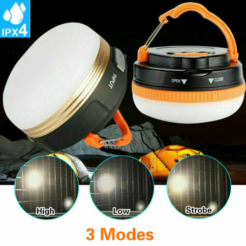 USB Super Bright Rechargeable LED Camping Tent Fishing Lamp Light Portable