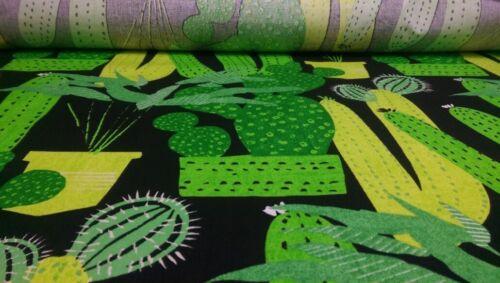 Baumwolle  Kinder Blusen Kleider Hosen Patchwork Grün mit Kaktus