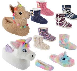 mule pantoufles 3d en bootee ballet enfants filles Mesdames animaux nouveauté peluche SRznT