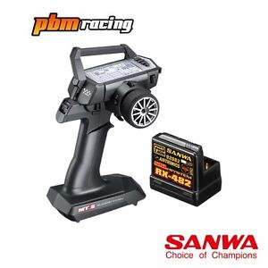 Sanwa-MT-S-RC-Car-2-4Ghz-Transmitter-With-One-RX-482-Receiver-SA101A31971A