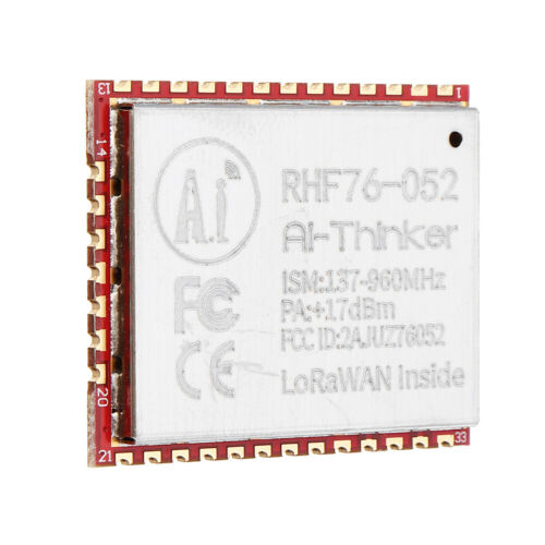 SX1276 Wireless LoRa Module RHF76-052 LoRaWAN Node Module Integrated STM32 Low P