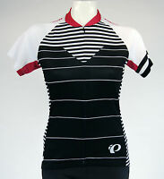 Pearl Izumi W Select Ss Cycling Jersey,women's, Large, Black/white/red