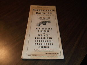 FEBRUARY-1943-PRR-PENNSYLVANIA-RAILROAD-FORM-19-HELL-GATE-BRIDGE-ROUTE-WWII