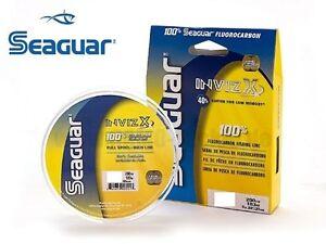 Seaguar-Invizx-100-Fluorocarbon-Line-200-yd-Spool-Choice-of-Line-Strength