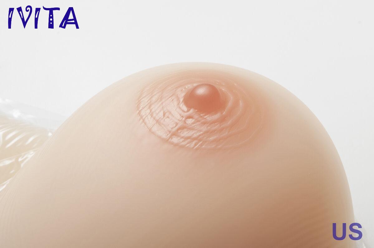 Correas de silicona Travesti Ropa Interior Femenina Femenina Femenina realista Boob Pecho formas Hecho a Mano A + 558b15