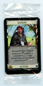 Dominion Promo Card Envoy new set of 11 in sealed pack with randomizer