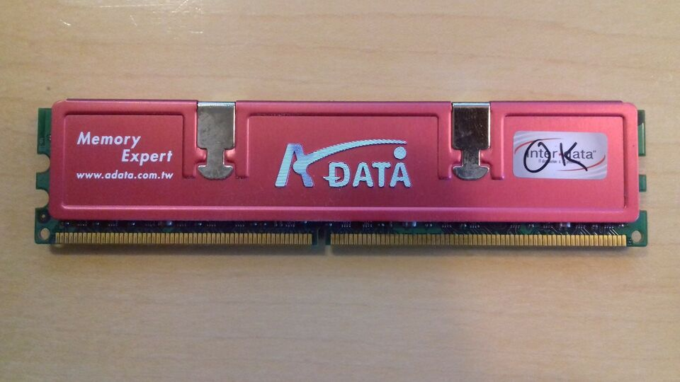 A-Data, 1 GB, DDR2 SDRAM