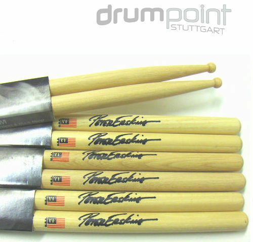 6 Paar original Vic Firth Erskine SPE Signature Sticks Drumsticks **TOPDEAL**