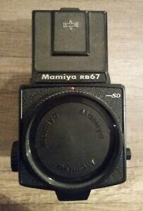 Mamiya-RB67-Pro-SD-Body-Mittelformat-Kamera-6x7-mit-Lichtschacht
