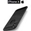 miniature 1 - Coque Étui Souple Pour Apple IPHONE X Original Fibre Carbon Anti-empreinte