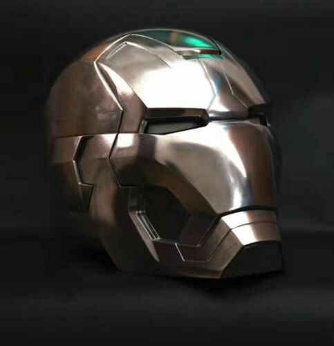 CATTOYS 1:1 Iron Man MK42 Full Metal Version with LED Helmet Replica InStock New