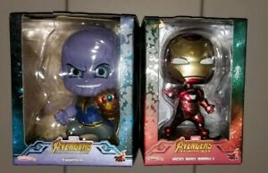 Hot-Toys-Avengers-Infinity-War-Thanos-and-Iron-Man-Mark-50-Cosbaby-Marvel