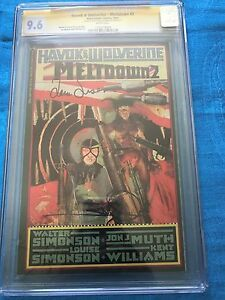 Havok-amp-Wolverine-Meltdown-2-CGC-SS-9-6-NM-Signed-by-W-amp-L-by-Simonson
