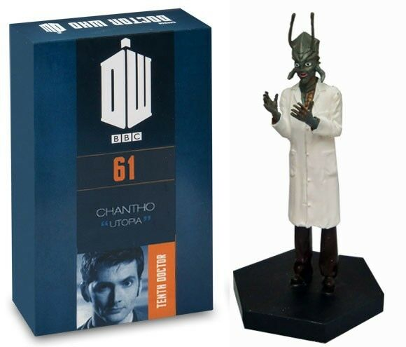 Doctor Who Figurine Collection (Eaglemoss) - 61 - Chantho (and magazine)