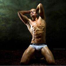 Timoteo Men's Classic White Luxury Mesh Athlete Jock