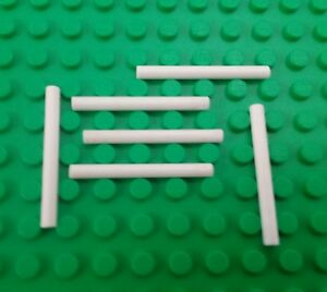 *NEW* Lego Black Wands Staffs Sticks Minifigures People Men Figs 6 pieces