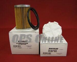 OEM Mercury Gen 3 Fuel Module Filter Kit 35-8M0093688 /& 35-892665 NEW