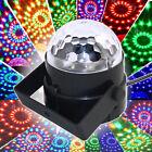 RGB Stage Laser Lights Magic Ball Party DJ Disco Mini LED Lighting Voice-Control