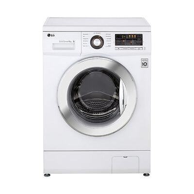 LG F 1296 NDAH Waschmaschine Freistehend Weiss Neu