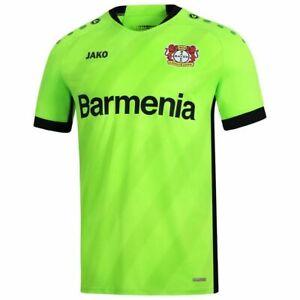 Dettagli su JAKO Calcio BAYER 04 Leverkusen Da uomo Portiere Home Jersey Shirt 2019 2020- mostra il titolo originale