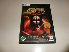 PC  Star Wars - Knights of the Old Republic 2: The Sith Lords