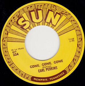 "CARL PERKINS - Let The Jukebox Keep On Playing   7"" 45"