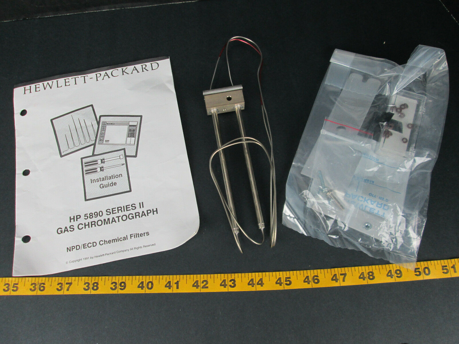 S118789 Hp 5890 Gas Chromatograph Series Ii 5890a Ebay 46 Packard Wiring Diagram Norton Secured Powered By Verisign