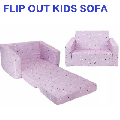 Kids Flip Out Sofa Toddler Daybed Foam