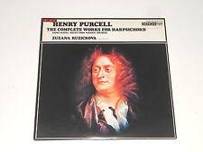 DENON PCM - Zuzana Ruzickova - Harpsichord - JAPAN 2LP - PURCELL Complete Works