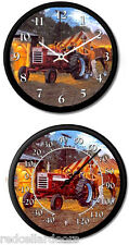 New FARMALL 460 Tractor Clock and Thermometer Set DAVE BARNHOUSE Horse Power