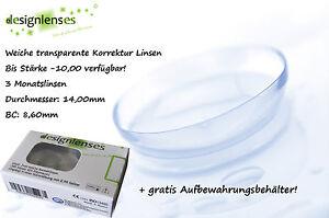 Gut Ausgebildete Designlenses © Lenti A Contatto Morbide Con Diottrie Beauty & Gesundheit Augenoptik