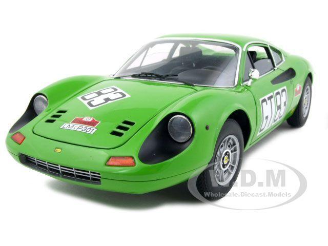 Ferrari Dino 246 Gt Elite   83 1971 Nurburgring Nurburgring Nurburgring 1 18 Auto Modelo por Hotwheels t6260 1b74bc