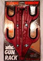 E-z Mount Red Truck Sliding Glass Window Gun Rack 400 Rs