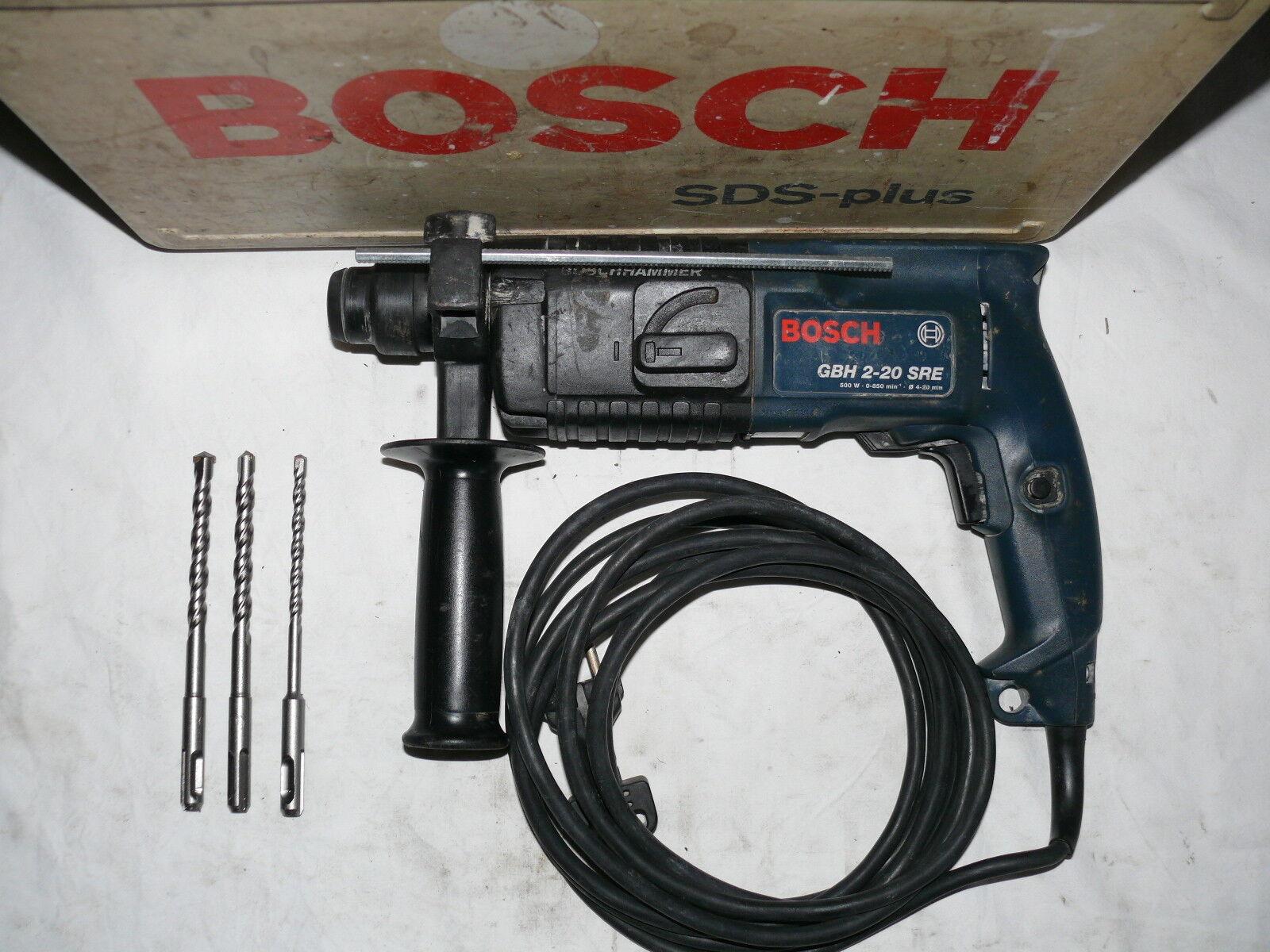 Bosch GBH 2-20 SRE BOHRHAMMER SDS-PLUS ÄHNL. UBH 2-20 RLE 2-22