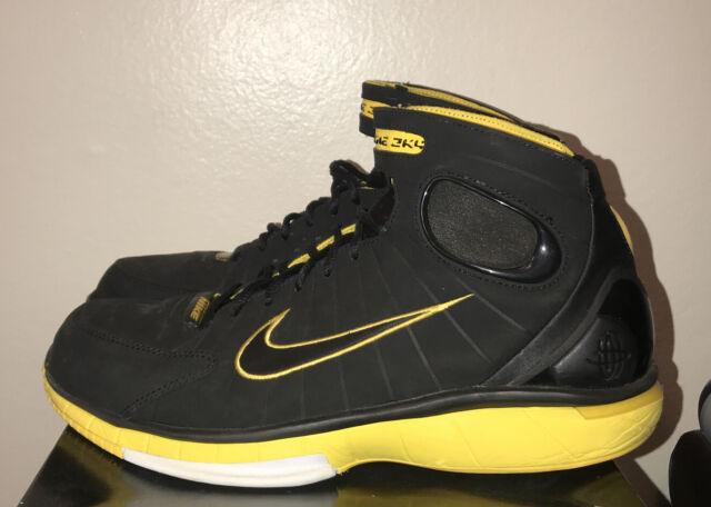 Nike Air Zoom Huarache 2K4 Black Maize